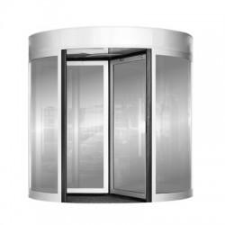 Ideas y tecnolog a puerta giratoria for Puerta giratoria